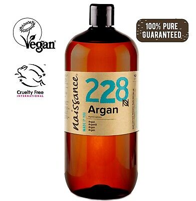 Naissance Moroccan Argan Oil 1 Litre - 100% Pure. For All Hair and skin Types