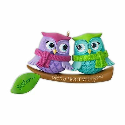 Hallmark Keepsake Ornament 2012 Life's a Hoot With Sisters - NEW IN BOX