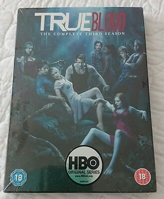 True Blood The complete Thrid /3 Season DVD,  New / Sealed