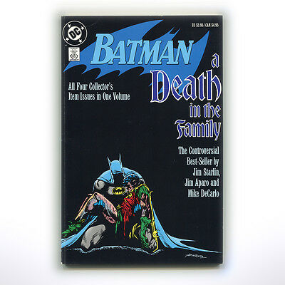 BATMAN: A DEATH IN THE FAMILY ( 1989 / 1st Ed - UK/DC **VERY GOOD CONDITION** )