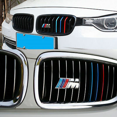 M Sport Metal Grill High Quality Badge & M Sticker Chrome Emblems For All BMW