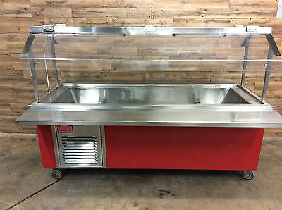 Colorpoint Refrigerated Adolescent Height Buffet Table 1Ph 120V