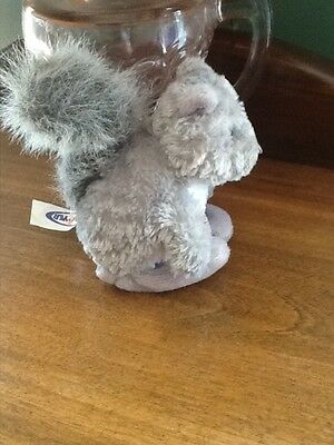 Gray Squirrel Finger Puppet, Great for story retell.  Education Speech Therapy