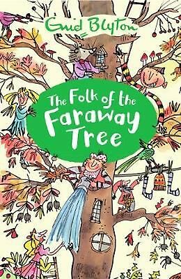 The Folk of the Faraway Tree by Enid Blyton Paperback Book