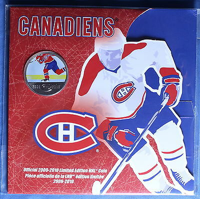 Canada 2010 - NHL Montreal Canadiens - Coloured Action Half $ (50 cents)