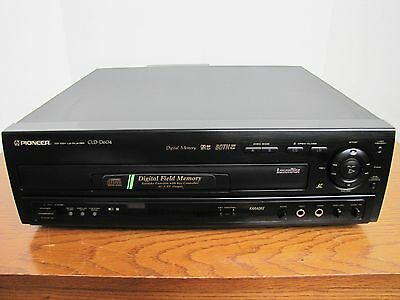 Pioneer CLD-D604 Laser Disk & CD player