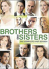 Brothers & Sisters - The Complete First Season (DVD, 2007, 6-Disc Set)