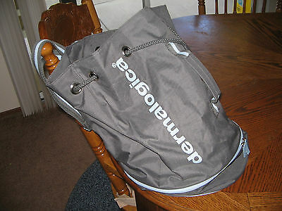 Dermalogica Drawstring Heavyduty Bag W/cooler ~ Pouches Inside Top Portion!