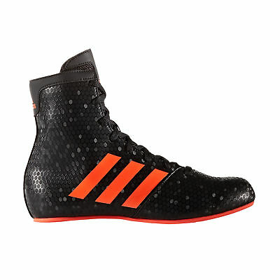 adidas KO Legend 16.2 Kids Boxing Trainer Shoe Boot Black/Red