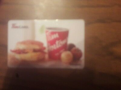 Tim Hortons $100 physical gift card brand new