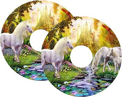 Wheelchair Spoke Guard Cover Protector STICKERS 100s Custom Designs UNICORN
