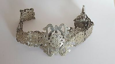 EPNS Silver Plate NURSES BELT WITH CLASP