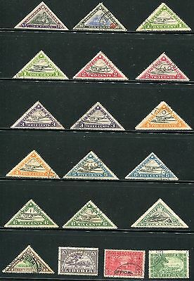 Liberia West Coast Of Africa, 1910 early start collection of 38 mh/u stamps.