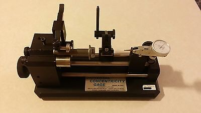 New Universal Punch Corp Concentricity Gage run out Guage headers