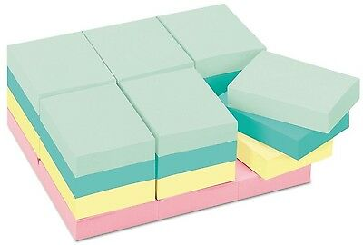 Post-it Notes Original Pads In Marseille Colors 1 1/2 x 2 100/Pad 24 Pads/Pack