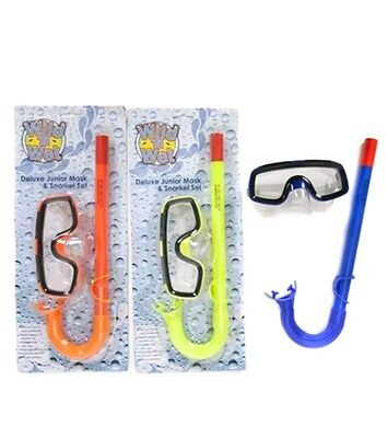 Childrens Mask and Snorkel Set suitable for kids 4 - 9 years old