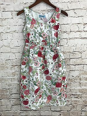 Women's OLD NAVY Maternity Dress Floral Cotton Summer Sundress Size Small