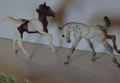 Breyer Horse Lot Two Horses Colt/Foal