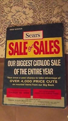 Vintage 1969 Winter Sears Sale Catalog Sears,Roebuck and Co. 385 pages