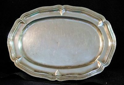 Mexican Sanborns Sterling  Silver Tray/ Platter,  42.12 Ozt.  17 In. X 12 In.