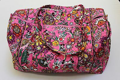 Vera bradley Large Duffel in Disney Mickey Minnie Just Mousing Around NWT