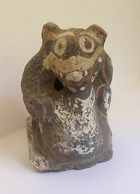 ANCIENT CHINESE BEAR - Han Dynasty - A Charming Figure with Original Paint