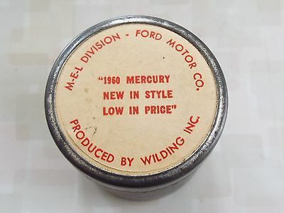 1960 Mercury New Style Low Price M-E-L Division Factory Filmstrip Ford Motor Co