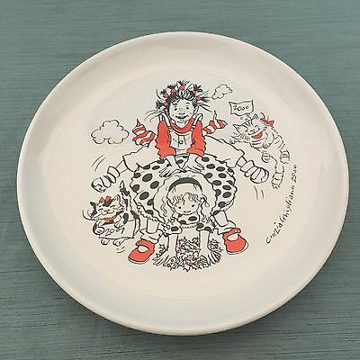 Cinzia Ghigliano Authors of Italian Comics Signed Collector Plate 27/100 italy