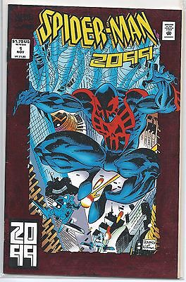 Spider-Man 2099 #1, Marvel Comics, 1992, Red Foil Cover, Future