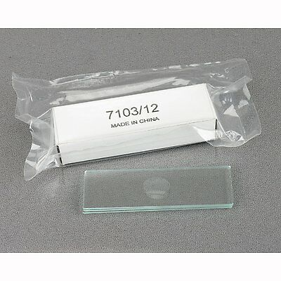 AmScope Microscope Slides Single Depression Concave Pack of 12 NEW SEALED