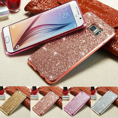 Bling Glitter Case Cover For Samsung S8 S9 J5 J7 2016 2017 A750 A20 A30 A50 2019