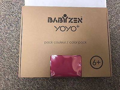 New BABYZEN YOYO+ 6+ Color Pack Pink BZ10104-02 Canopy Seat Pad