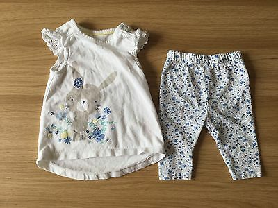 mothercare baby girls 0-3 months set