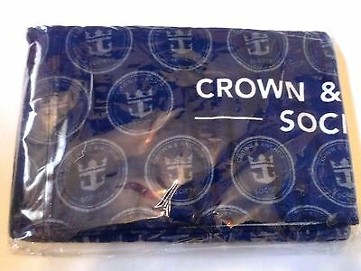 Royal Caribbean Cruise Line Crown And Anchor Beach Towel  With Extras - New