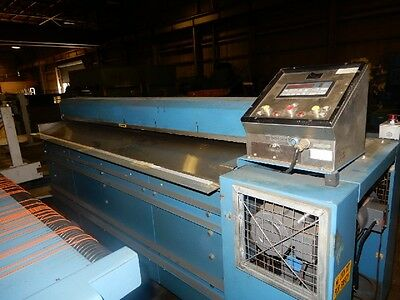 "72"" Rosenthal Sheeter Mdl. Wa-S-6-Eva W/ Stacker And Southworth Table"