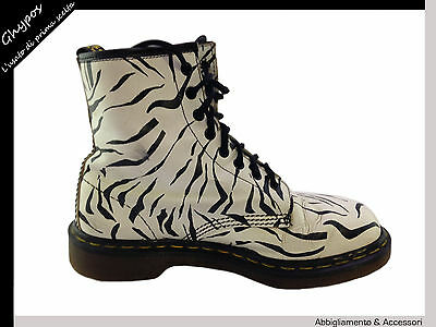 Scarpe Stivali Anfibi In Pelle - Dr. Martens - Sz. 7/41 Boots Leather Shoes S37