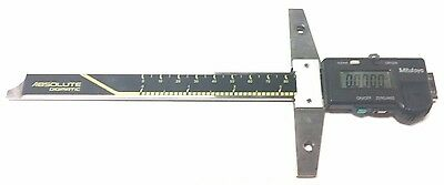 "Used Mitutoyo 571-211-10 Absolute Digimatic Depth Gage - Model VDS-6"" DC"