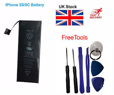 Genuine Replacement High Capacity Battery For Iphone 5S /5C With Tools