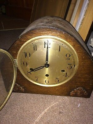 Vintage Art Deco Westminster Chime Mantle Clock - For Repair