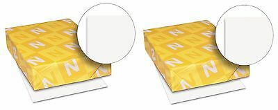 Wausau Neenah Index Card Stock Copy Paper 110 lb White 2 pk x 250 = 500 Sheets