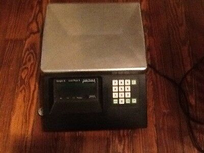 Toledo Electronic Scale Model#8420, 30 lb. Scale With Prepack