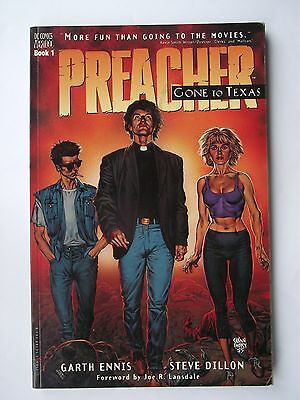 Preacher: Gone To Texas: Paperback– 11 Apr 1996 D C Comics Vertigo