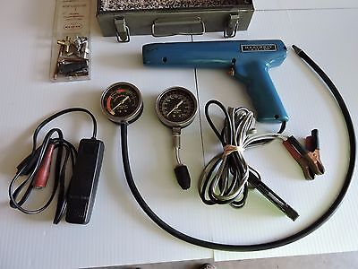 Vintage HeathKit Timing Light CL-1040 W/ Engine Vacuum Fuel pump tester in Box