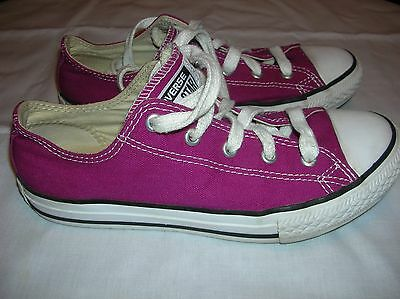 Girl's Converse All Star Shoes - Purple -  Youth Size 3 - Sneakers