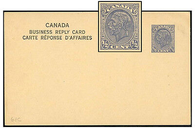 CANADA ½¢ CBN PROFILE PSC HEADING TYPE 10 P61c