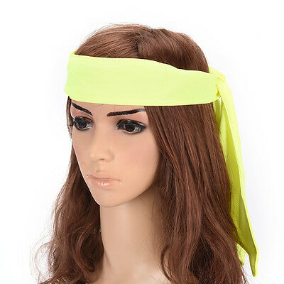 Fitness Headband Sport Gym Cool Unisex Antiperspirant Absorb sweat Headband RD