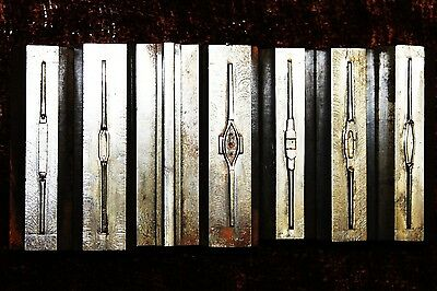 SEVEN Jewelry Master Hobs Stamping Mold Tool 7 RING Designer Hobs Dies