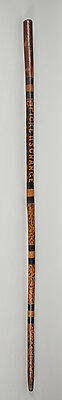 """Rare Civil War Commemorative Cane-""""Picketts Charge-Battle 1863+$250 Gift Cards!"""