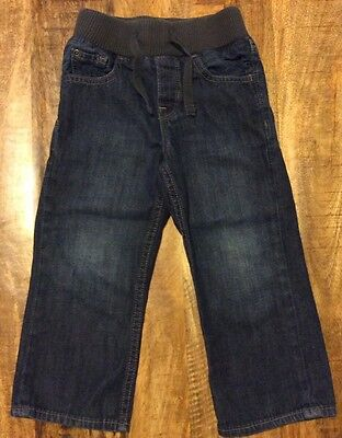 Toddler Boys Size 3T Baby Gap Jeans With Elastic Waistband