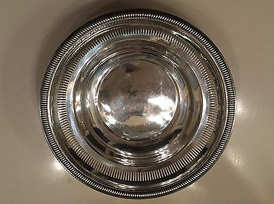 Vintage Sterling Silver Pierced Bowl Candy Dish  Kenilworth